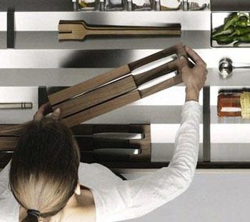 10 روش نوین برای جمع آوری وسایل آشپزخانه - www.campfa.ir
