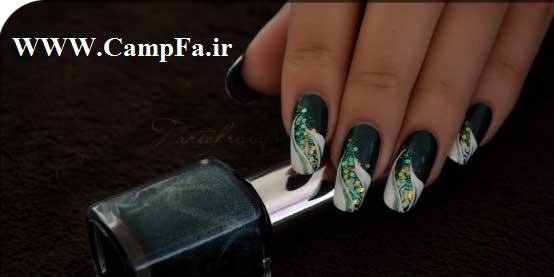 مدل لاک ناخن 2014,مدل لاک ناخن جدید 2014,طراحی ناخن جدید CampFa.ir