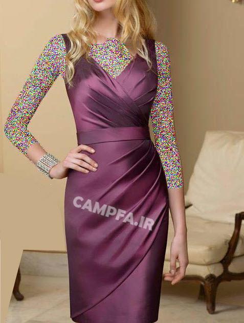 CAMPFA.IR مدل لباس مجلسی کوتاه دخترانه سال 2013