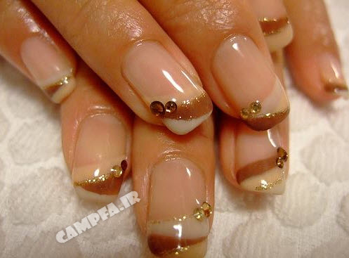 مدل های جدید طراحی روی ناخن |www.campfa.ir