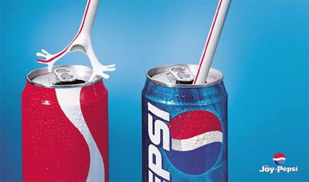 تبلیغات,کوکاکولا,پپسی
