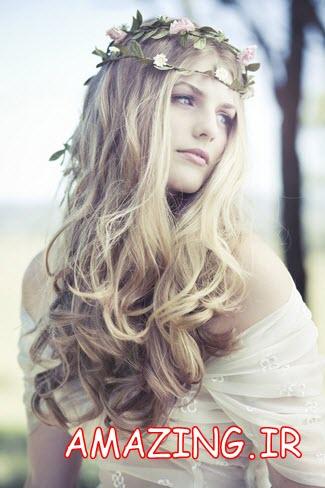 مدل بافت مو عروس 2014