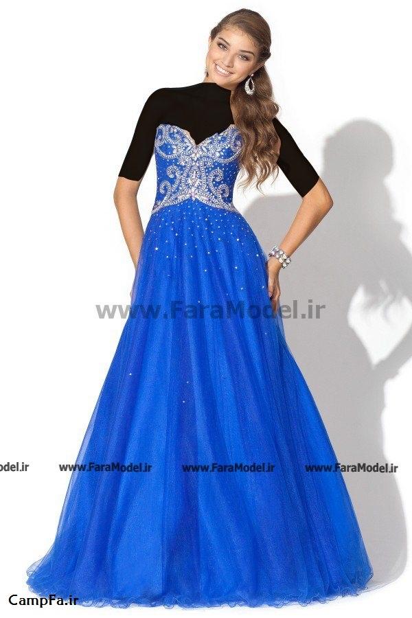 جدیدترین مدل لباس مجلسی بلند 2013 www.campfa.ir