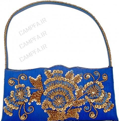 مدل کیف زنانه و دخترانه آبی سال 1392 - www.campfa.ir