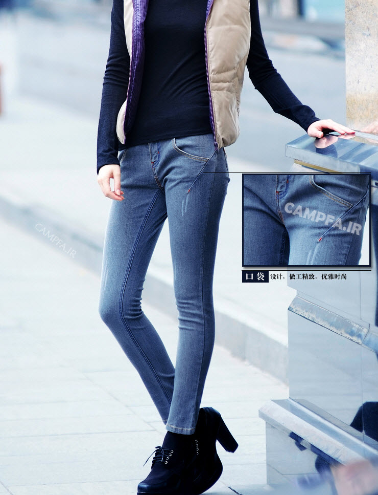 مدل های جدید شلوار لی دخترانه 92 - www.campfa.ir
