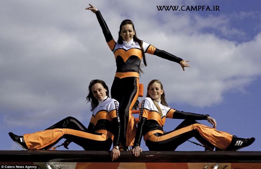 نترس ترین زن جهان در سال ۲۰۱۳ www.campfa.ir