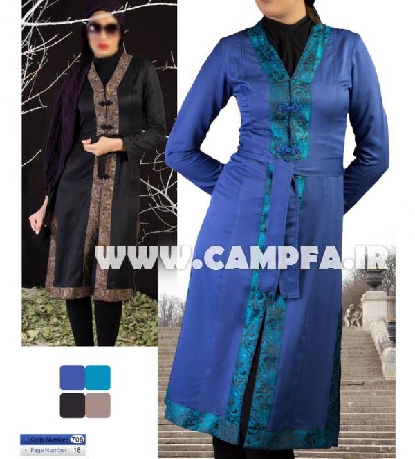 مدل مانتو های ایرانی سال 1392 www.campfa.ir