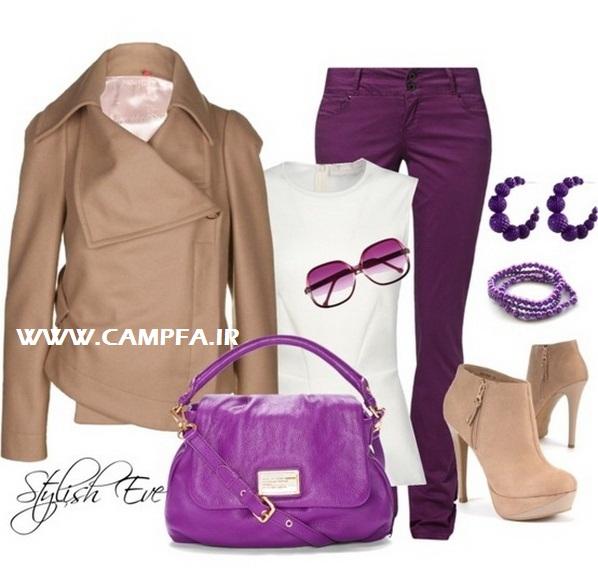 ست لباس های بنفش زنانه 2013 | www.campfa.ir