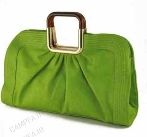 مدل کیف رنگ سبز زنانه و دخترانه سال 1392 - www.campfa.ir