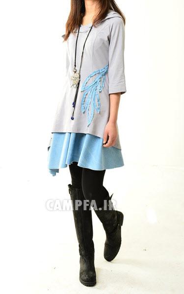 www.campfa.ir مدل تونیک دخترونه 2013