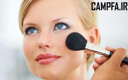 آرایش 2014,آرایش, آرایش صورت, آرایش گونه, آموزش رژگونه زدن