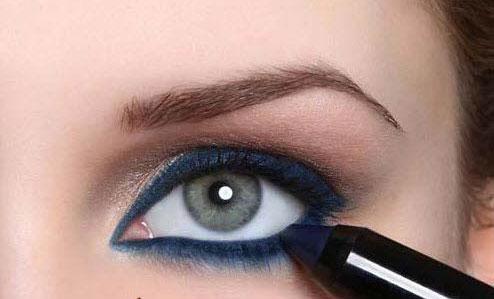 آموزش آرایش چشم اسپرت دخترانه