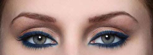آموزش تصویری آرایش اسپرت دخترانه,آرایش اسپرت چشم,آموزش تصویری آرایش چشم