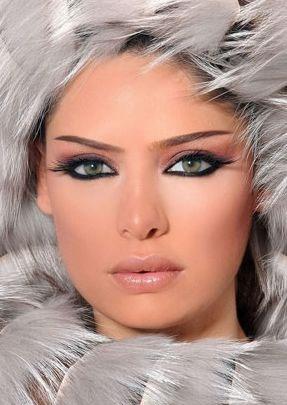 مدل آرایش صورت 2014,مدل آرایش صورت 93,مدل آرایش چشم و ابرو 93,مدل آرایش صورت عید 93,