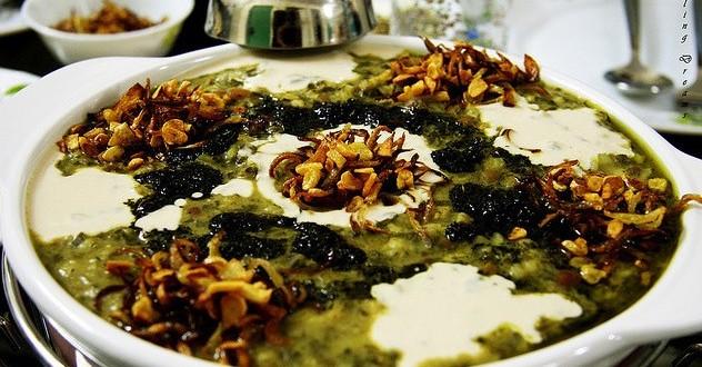 دستور پخت آش جو کلاسیک ,مواد لازم برای تزیین آش جو کلاسیک ,طرز تهیه آش جو کلاسیک