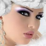 جدیدترین مدل های آرایش صورت عروس 93