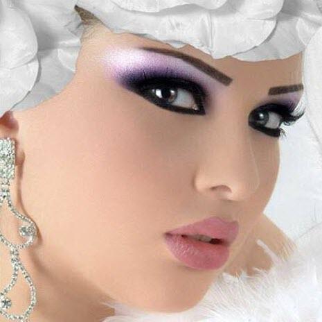 مدل آرایش عروس 2014,مدل آرایش صورت 2014,مدل آرایش صورت عروس 2014,
