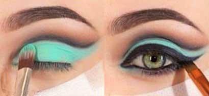 آرایش چشم, مدل آرایش چشم, مدل آرایش چشم 2014, آرایش چشم 93, آرایش چشم, آموزش آرایش چشم, آرایش چشم زیبا, خط چشم, زیر سازی پوست