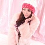 مدل شال و کلاه بافتنی دخترانه زمستانی 2014