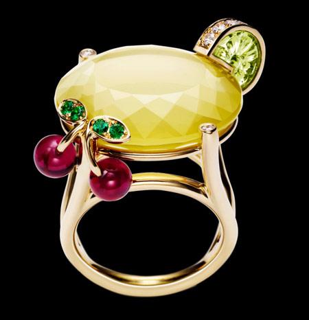 مدل جواهرات 2014, جدیدترین جواهرات, انگشترهای جواهر میوه ای