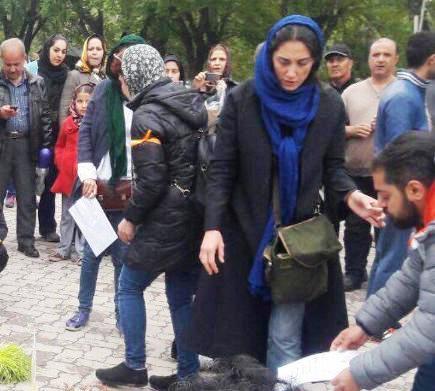 هدیه تهرانی,سوسن پرور,بازداشت هدیه تهرانی